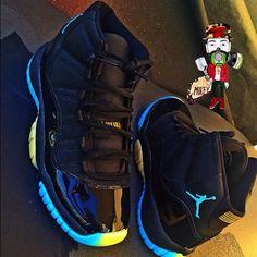 Custom 11's Air Jordan Sneakers, Nike Air Shoes, Jordan Shoes Girls, Girls Shoes, Sneakers Fashion, Shoes Sneakers, Jordans Sneakers, Zapatillas Jordan Retro, Fly Shoes