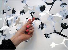 peel paper walls.