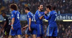 Frank Lampard moved a step closer to Chelsea's all-time scoring record in the victory over Wigan #soccer #chelsea #sports