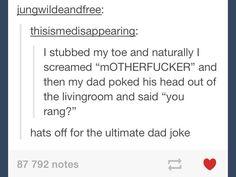 The ultimate dad joke
