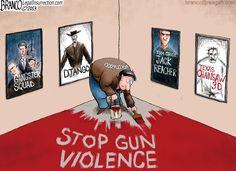 Many believe Hollywood is hypocritical with their stance against gun ownership and gun rights, despite all the violence in their movies.