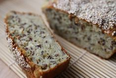Bean bread (no flour) Gluten Free Recipes, Healthy Recipes, Healthy Breads, Food Court, Banana Bread, Food And Drink, Healthy Eating, Meals, Baking