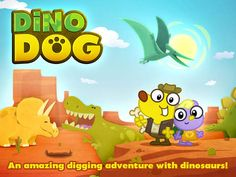 Have a little one who loves dinosaurs? Check out Dino Dog: A Digging Adventure with Dinosaurs Dinosaur Games, Dinosaur Activities, Physical Play, Dinosaurs Preschool, Best Ipad, Digital Storytelling, News Apps, Kids And Parenting