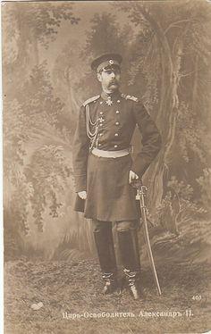Tsar Alexander II of Russia. Father to Tsar Alexander III and grandfather to Tsar Nicholas II