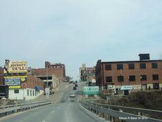 crossing bridge from Missouri into Quincy,Illinois