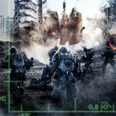 New Images in the Heat of Battle from Edge of Tomorrow