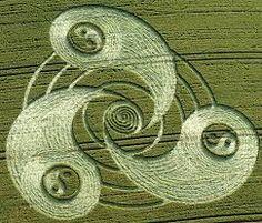 Image result for kruhy v obilí