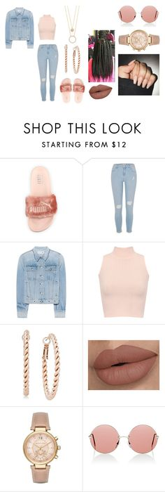 """""""glam"""" by foreignasf162000 ❤ liked on Polyvore featuring Puma, River Island, rag & bone, WearAll, Charter Club, Michael Kors, Christopher Kane and Kate Spade"""