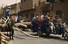"""""""Got Places To Go and People To See!"""" (Kashgar, Xinjiang, China)"""