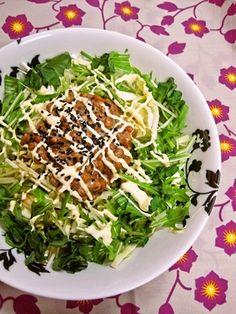 natto salad ~~