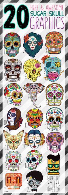 Sugar Skull Makeup Bag Using Printable HTV: Drop Dead Gorgeous! – Heidi Wood-Harbour Sugar Skull Makeup Bag Using Printable HTV: Drop Dead Gorgeous! Hello everyone, Today, we have shown Heidi Wood-Harbour 20 Free & Awesome Sugar Skull Graphics! Sugar Skull Make Up, Sugar Scull, Mexican Skulls, Mexican Folk Art, La Muerte Tattoo, Los Muertos Tattoo, Sketch Note, Sugar Skull Tattoos, Sugar Skull Drawings