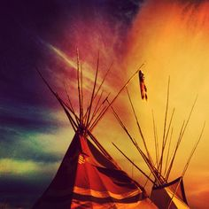 Teepees: By Sydney Hensler