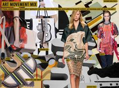 Spring-Summer 2015 Fashion Trends: Prints Art Movement Mix