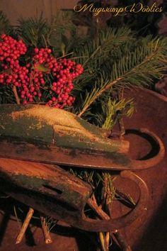 Mugwump Woolies: Bits of Christmas and Candlelight
