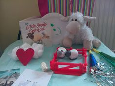 Flame: Creative Children's Ministry: Getting familiar with the story: The Lost Sheep in Tots!