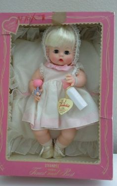 Effanbee 1964 Twinkie Baby Doll Original Box