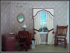 Dollhouse curtains I love to make