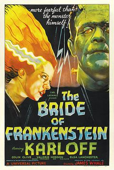 Yet another Boris Karloff – a one-sheet for The Bride of Frankenstein from 1935, which fetched $334,600.00 in 2007.