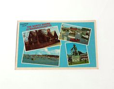 Vintage Postcard North Shore Postcard by Donellensvintage on Etsy