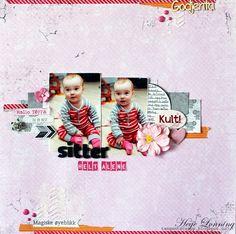papirdesign-blogg Scrap, Frame, Baby, Home Decor, Picture Frame, Decoration Home, Room Decor, Baby Humor, Frames