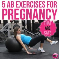 5 AB Exercises For Pregnancy (that are safe) and can be done from home. Video of the exercises is here also. These pregnancy core exercises help prevent back pain during pregnancy and help you lose the postpartum pooch way faster.  http://michellemariefit.publishpath.com/5-ab-exercises-for-pregnancy-that-are-safe