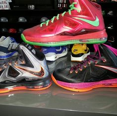 LeBron James shoes! The best present anyone could get me
