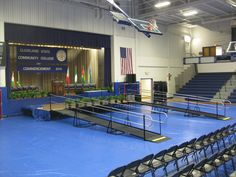 Dave Taylor and the Amramp Eastern TN team installed these wheelchair ramps for graduation at Cleveland State Community College in Cleveland, TN