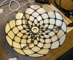 repair commission from Milton Keynes Stained Glass Lamps, Milton Keynes, Picture Show