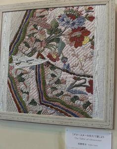 ^= ❤ William Morris in Quilting: Tokyo Quilt Festival Part 2 Yoko Saito, Tokyo Dome, Quilt Festival, Beatrice Potter, Peter Rabbit And Friends, Applique Quilts, William Morris, Textile Art, Needle Felting