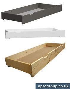 ✔ Do you need more storage space for your stuff❓ Under bed storage drawer is the best option! Our drawers are made of solid wood and are available in a few size versions❗ #storage #drawers #solidwood #furniture #pine