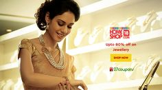 This festive season buy jewellery with low price. Upto 80% off on #jewelley @HomeShop18 #27coupons http://27c.in/GvPh1