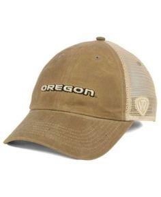 Top of the World Oregon Ducks Mudd 2 Tone Mesh Cap - Brown Adjustable