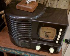 Cool Crosley limited edition radio -- works too! B118 $45 #GasLampAntiques #CrosleyRadio #Vintage #BestAntiqueStore http://www.gaslampantiques.com/magazine/treasure.php?trId=2081