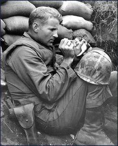 US soldier - Korean war, 1953