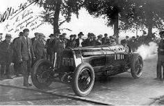 FIAT Mefistofele, a one-off racing car created by Sir Ernest A.D. Eldridge by combining a Fiat racing car and aeroplane engine. Eldridge broke the World Land Speed Record on 12th July 1924 with the Mephistopheles, by driving at 234.98 km/h in Arpajon, France.
