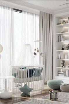 Discover this all-white nursery room project designed by Studia 54 . . . . . #circumagicalfurniture #kidsfurniture #kidsroom #kidsinterior #whitedecor #whitedecoration #whitedeco