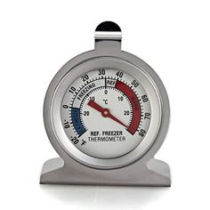2016 High Quality Stainless Steel Dail Dial Type Thermometer for Refrigerator Fridge Kitchen Freezer Use