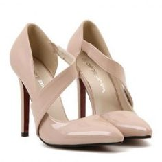 Sexy Women's Pumps With Hollow Out and Pointed Toe Design (NUDE,39) | Sammydress.com Mobile