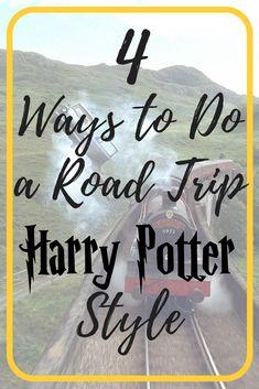 harry potter road trip pinterest graphic