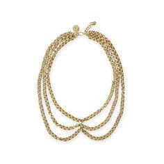 Nairobi Chain Brass Necklace | Mark and Graham
