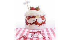 Cherries Jubilee Cupcake Recipe