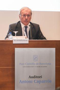 Conferencia inaugural a cargo de: D. Miguel Antoñanzas, Presidente del Club Español de la Energía Vii, Club, Presidents