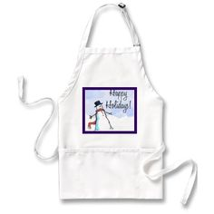 APRON HAPPY HOLIDAY CHRISTMAS $19.95