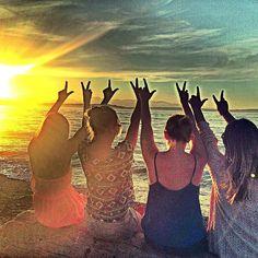 Friends, las vega, sun, sea, happiness