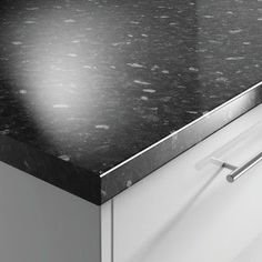 Black Slate Gloss 38mm Worktop | Benchmarx Kitchens & Joinery