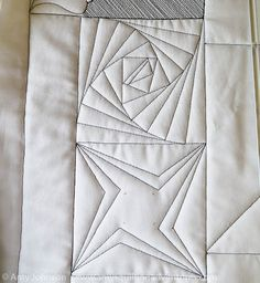 Amy's Free Motion Quilting Adventures: Quilting with Rulers: A Paradox