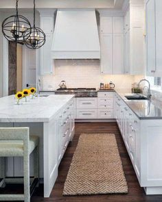 From traditional to modern, rustic and beyond, discover the top 70 best kitchen cabinet ideas. Explore unique cabinetry designs for your home interior. Rustic Kitchen Cabinets, Refacing Kitchen Cabinets, Cabinet Refacing, Kitchen Decor, Cabinet Ideas, Kitchen Runner, Kitchen Counters, Kitchen Styling, House Ideas