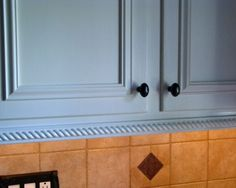 Image Result For Adding Trim To Bottom Of Kitchen Cabinets