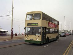 Double Deck, Blackpool, Buses, Busses