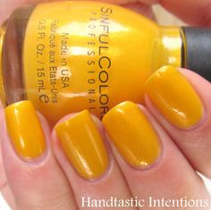Handtastic Intentions: Sinful Colors Let's Meet Swatch and Review